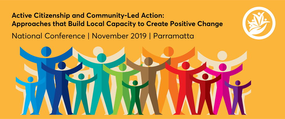 Active Citizenship Poster, National Conference 6-8 November 2019 in Parramatta