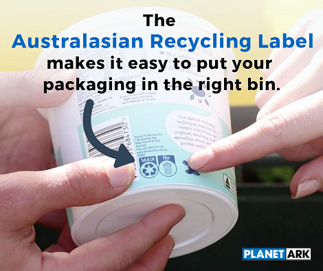 The Australiasian Recycling Label makes it easy to put your packaging in the right bin