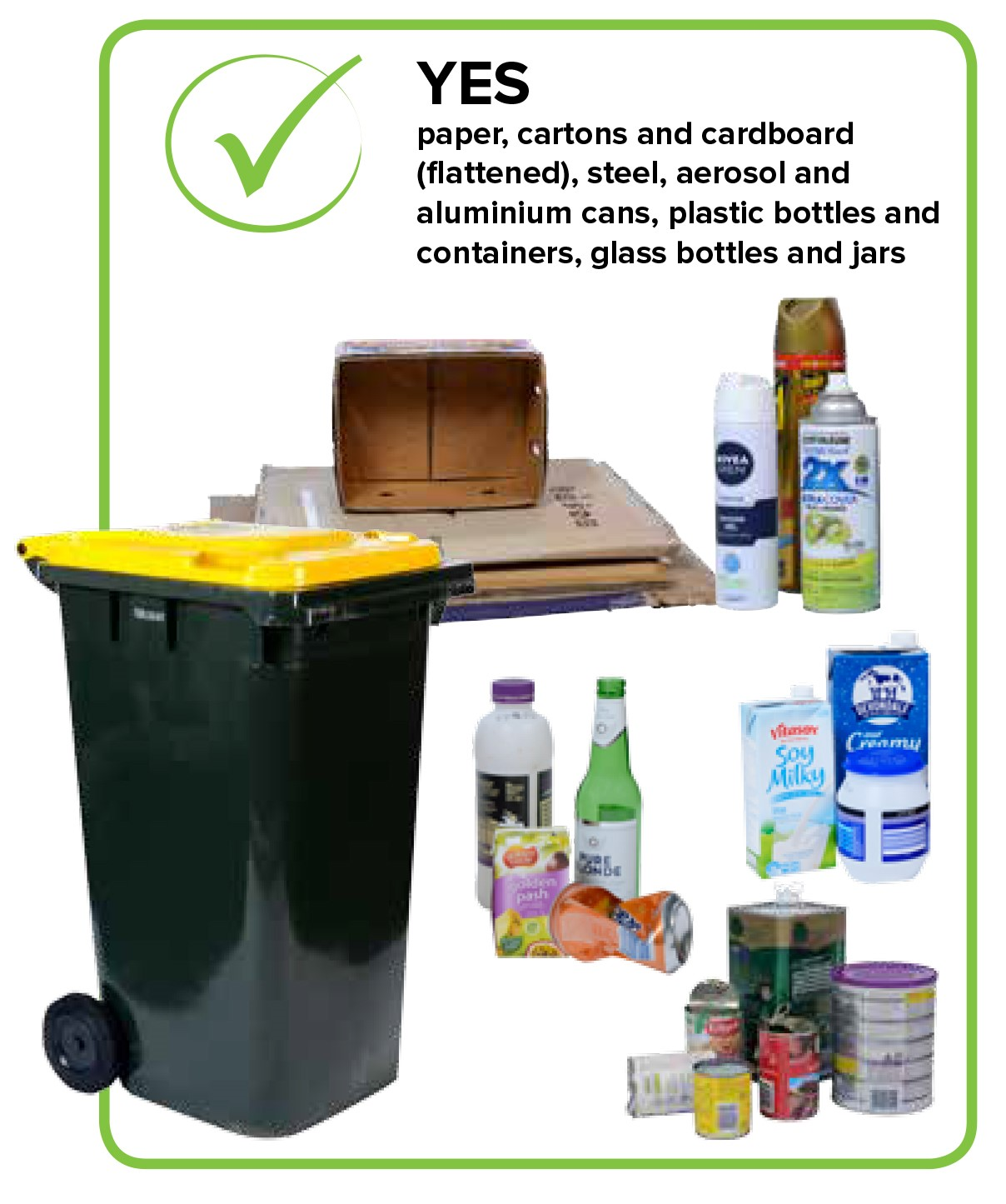 Examples of what can be recycled