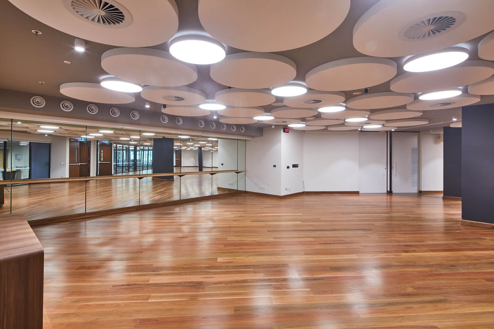 Dance studio at WPCCL