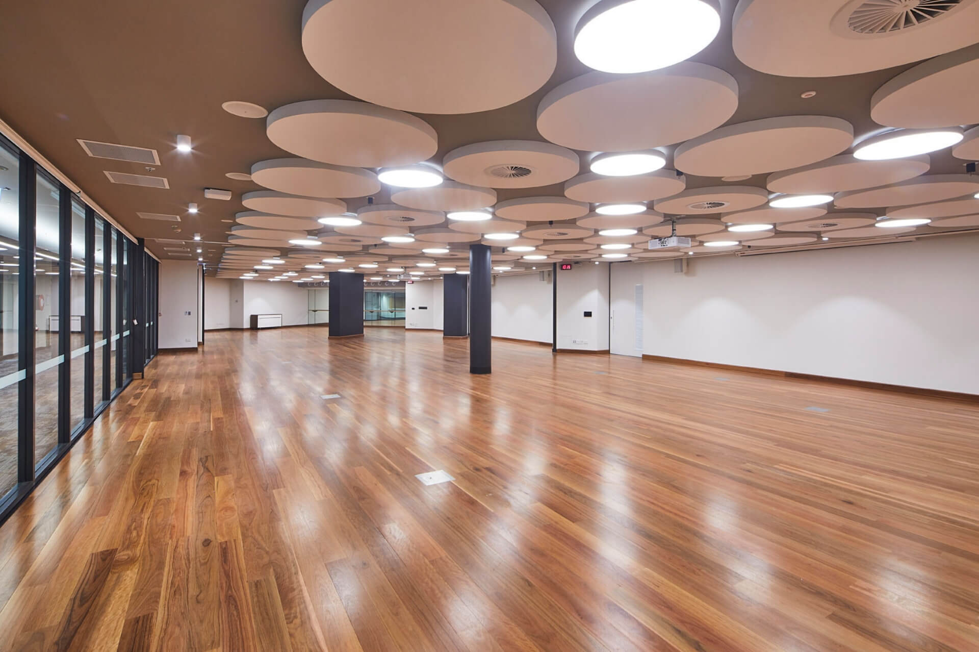 Function Rooms 1-2 and Dance Studio at WPCCL