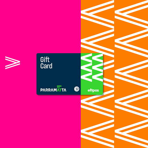 City of Parramatta local business giftcard