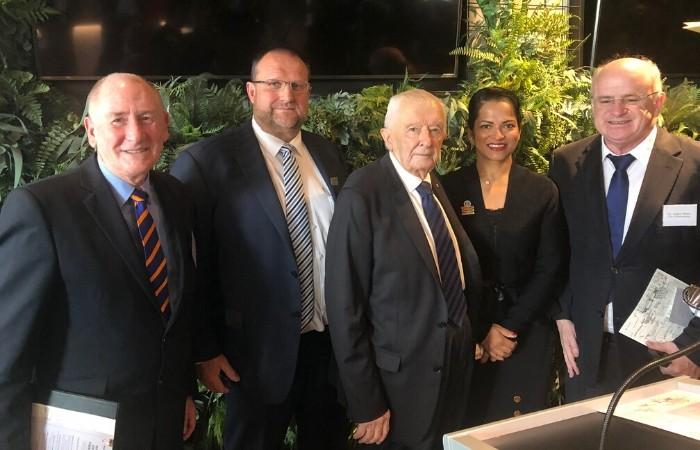 Lord Mayor and Councillor Wilson at Club Parramatta