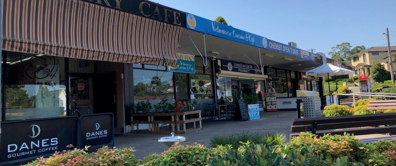 Winston Hills local shops