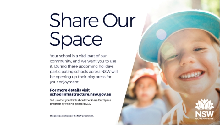 New program from the NSW Government - Share Our Space