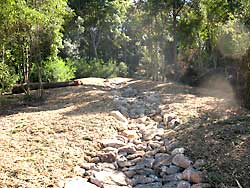 Stormwater drainage line rehabilitation at Impeesa Reserve, Winston Hills - AFTER