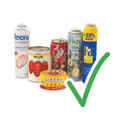 Do Recylce Steel, Aerosol and Aluminium Cans
