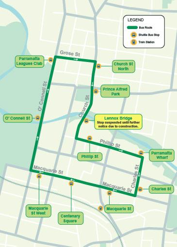 Free Shuttle Bus | City of Parramatta