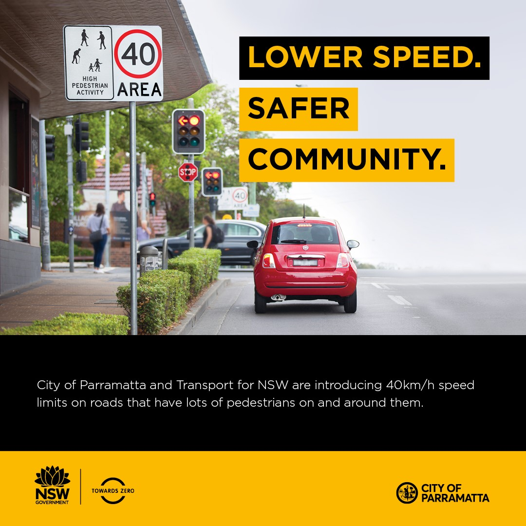 Lower speed, safer community image