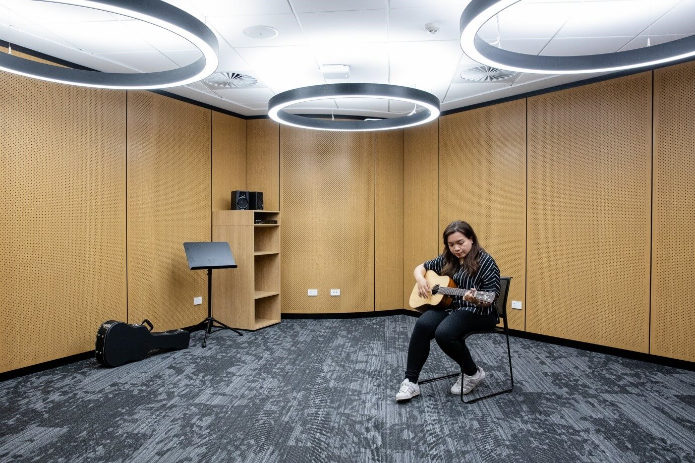 Music room of WPCCL