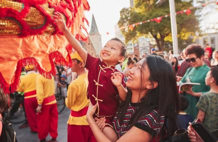 Lunar New Year in Parramatta. Photo by Jay La Photography