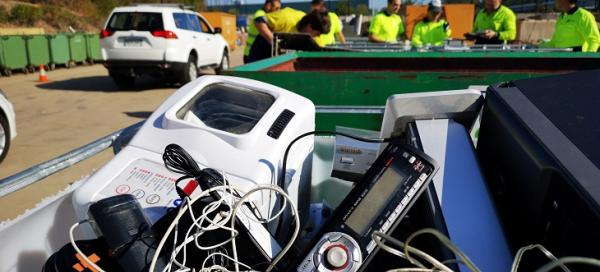 Image of electronic waste