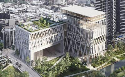 The winning design for the new Powerhouse Museum in Parramatta