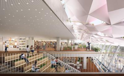 Image of the interior of 5 Parramatta Square