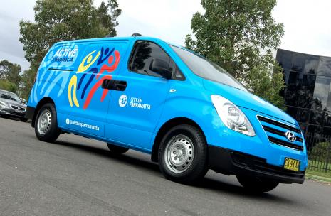 The Mobile active Parramatta Van