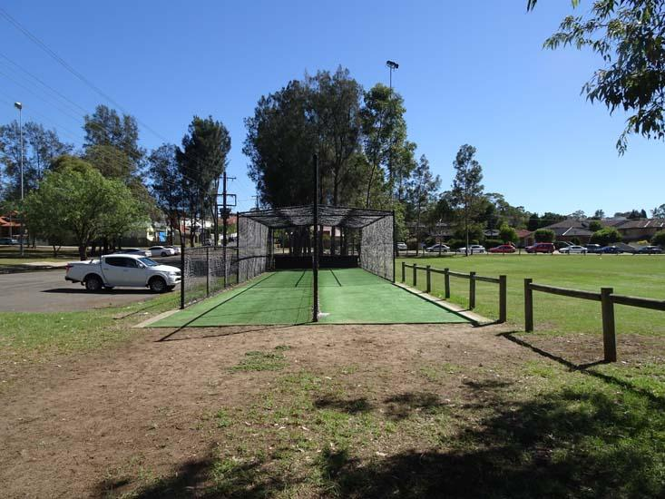 Jones Park Cricket Nets