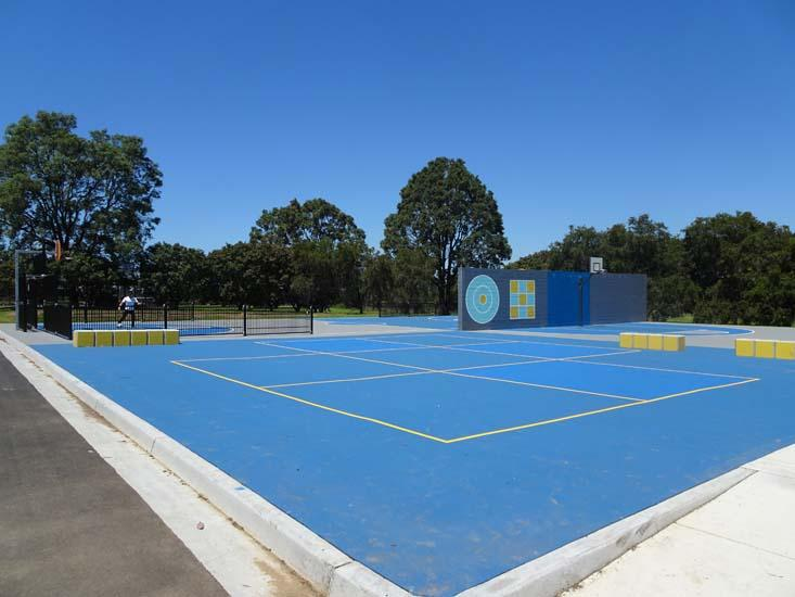 George Kendall Riverside Park Tennis Court