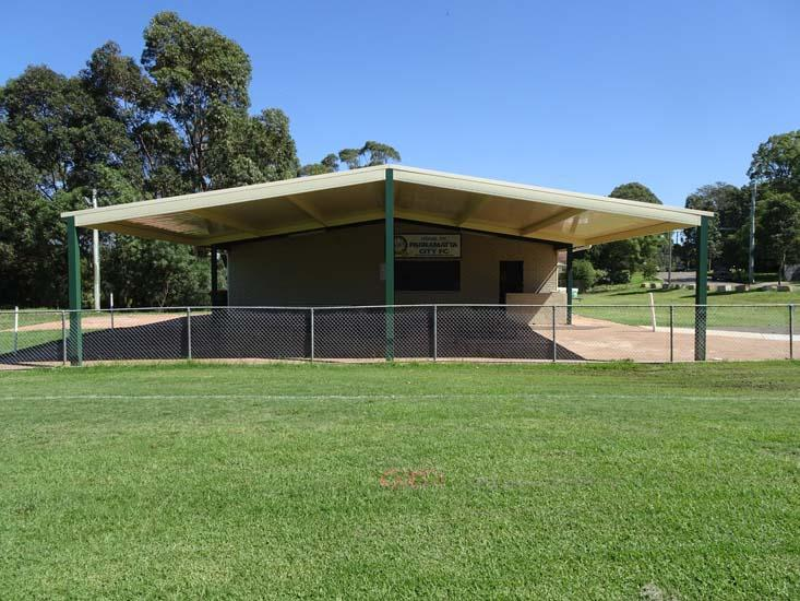Eric Primrose Reserve Amenities Building