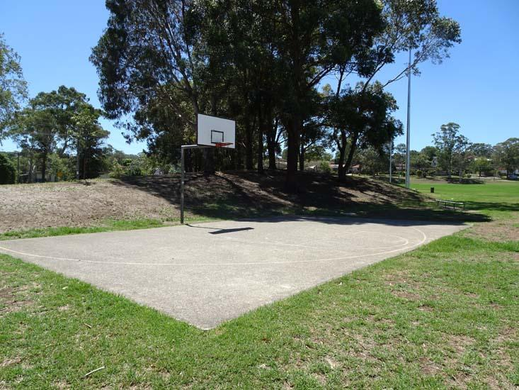 Dundas Park Half Basketball Court