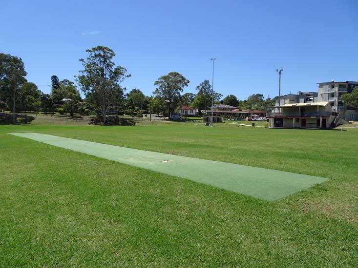 Dundas Park Cricket Pitch