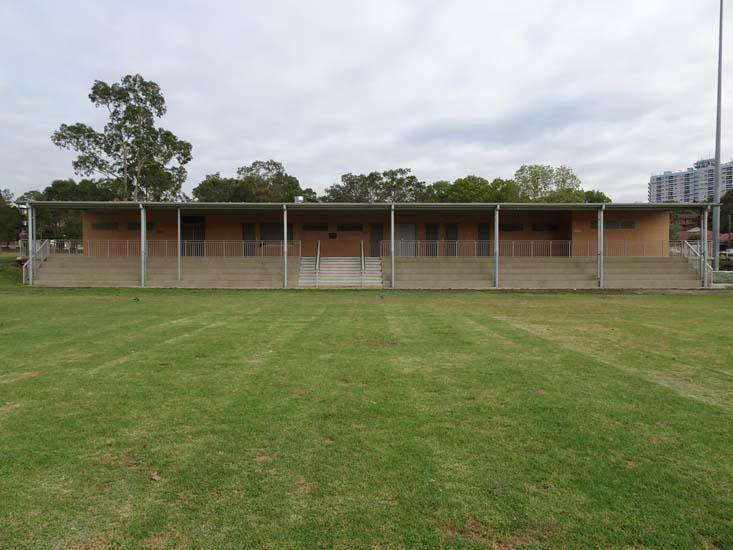 Ollie Webb Reserve Amenities Building