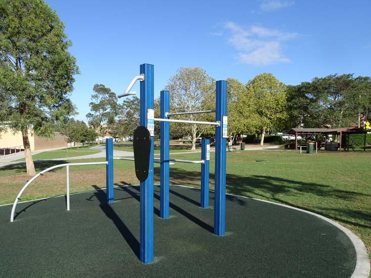 Ollie Webb Reserve Outdoor Fitness Equipment 1