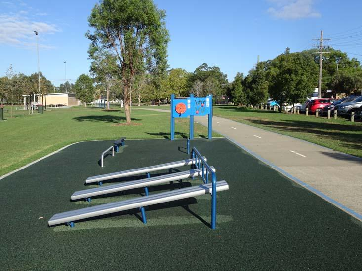 Ollie Webb Reserve Outdoor Fitness Equipment 2