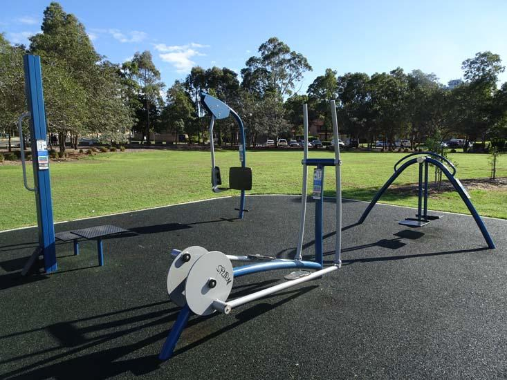 Ollie Webb Reserve Outdoor Fitness Equipment 3