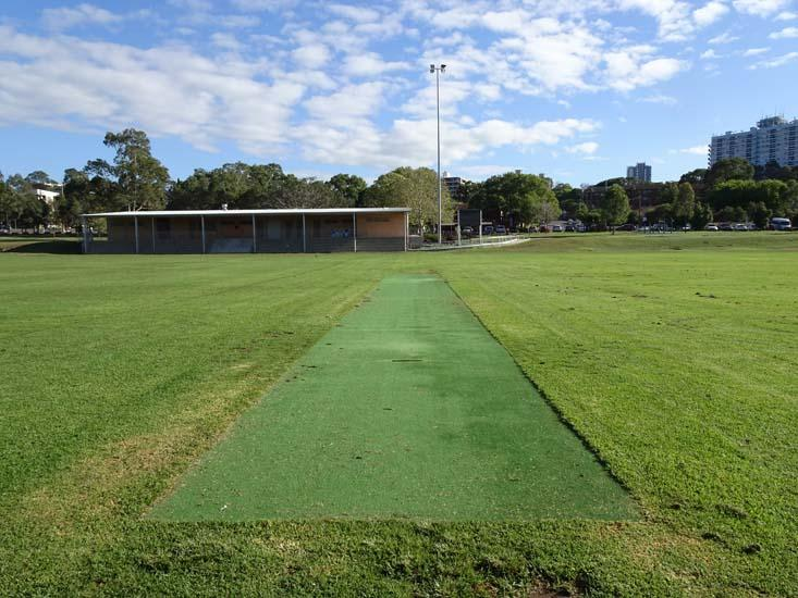 Ollie Webb Reserve Cricket Pitch 1