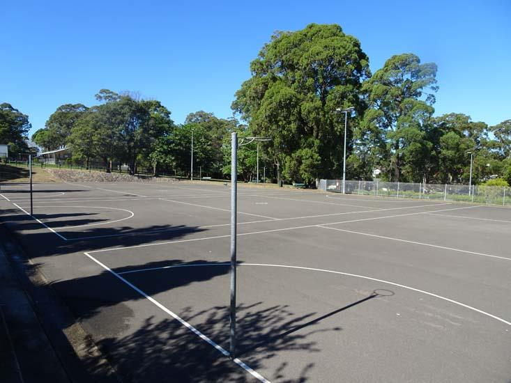 Don Moore Reserve Netball Court