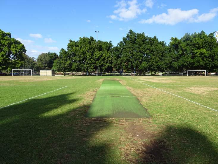 Robin Thomas Reserve Cricket Pitch