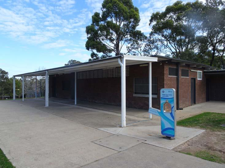 Don Moore Reserve Re-fillable Water Station