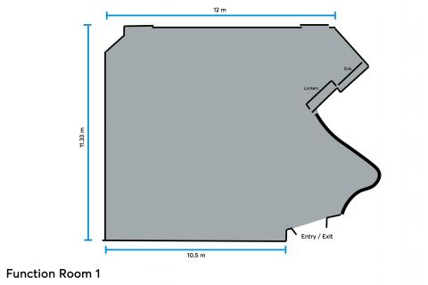 function room 1 layout