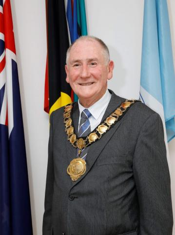 New City of Parramatta Lord Mayor Bob Dwyer