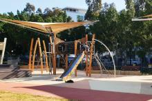 Photograph of Pierre de Coubertin playground