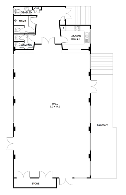 West Epping Community Centre floor plan