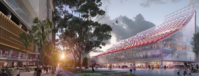 Artist impression of 5 Parramatta Square